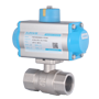 DURAVIS Pneumatic 2 Way Brass Ball Valve