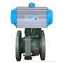 DURAVIS Pneumatic Gray Cast Iron Ball Valve