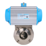 DURAVIS Pneumatic Sanitary Butterfly Valve