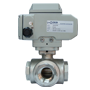 Electric Actuated Brass 3/2 Ball Valves