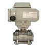 Electric Actuated Stainless Steel 2/2 Ball Valves