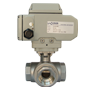 Electric Actuated Stainless Steel 3/2 Ball Valves