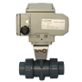 Electric Actuated UPVC 2/2 Ball Valves
