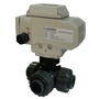 Electric Actuated UPVC 3/2 Ball Valves