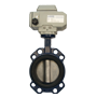 Electric Actuated Wafer Type Butterfly Valves