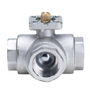 3/2 Way Brass Ball Valve with Thread Connection