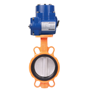 DURAVIS Electric  Wafer Type Butterfly Valve