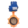 DURAVIS Electric Lug Type Butterfly Valve
